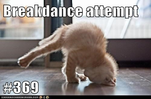 Breakdance attempt  #369