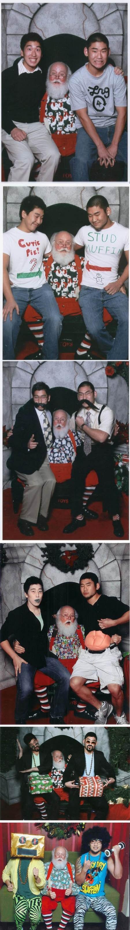 Photos With Santa: Expert Level!