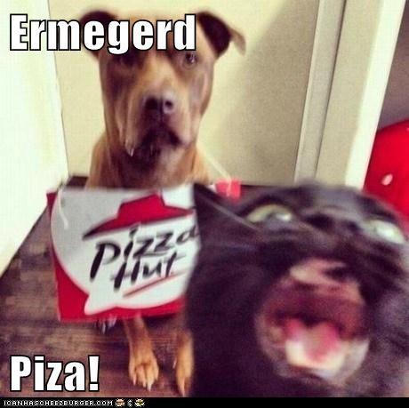 Ermegerd  Piza!