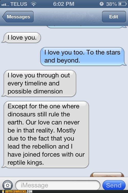 Our Love Isn't Dinosaur Proof