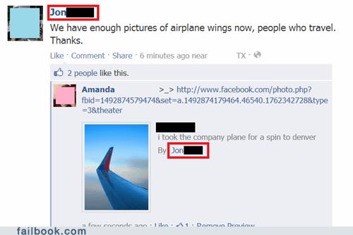 airplane wings,photo album,pot calling the kettle black,travel album
