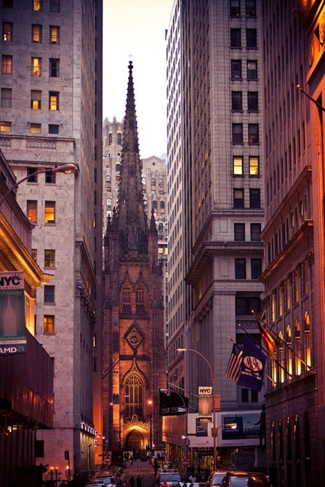 Another Side of Wall Street, New York