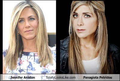 Jennifer Aniston Totally Looks Like Panagiota Petridou