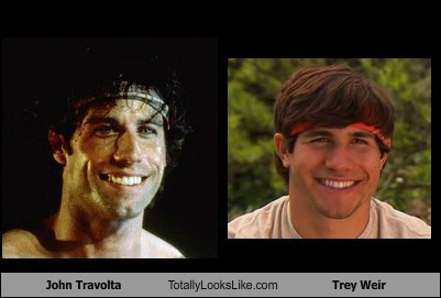 John Travolta Totally Looks Like Trey Weir