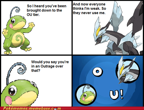 Black Kyurem is Outraged