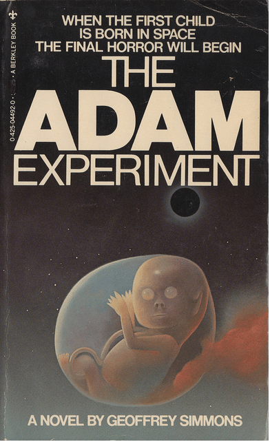 WTF Sci-Fi Book Covers: The Adam Experiment