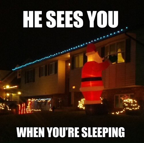 Creepy Claus FAIL