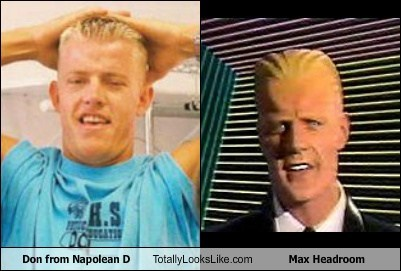 Trevor Snarr (Don from Napolean Dynamite) Totally Looks Like Max Headroom