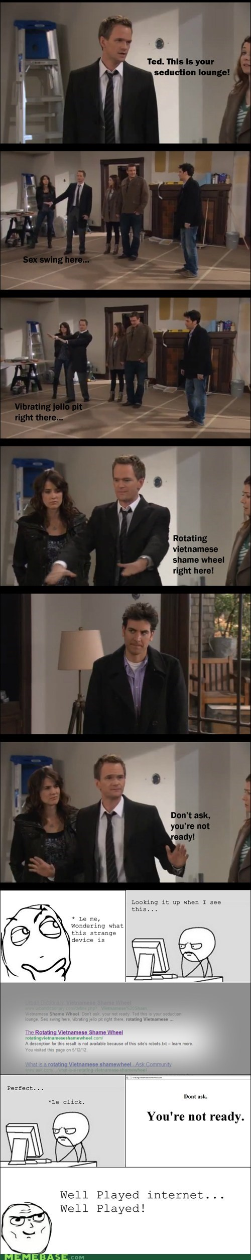 computer soon,how i met your mother,well played,barney,TV,seduction