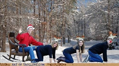 christmas,wtf,reindeer,family,funny,holidays