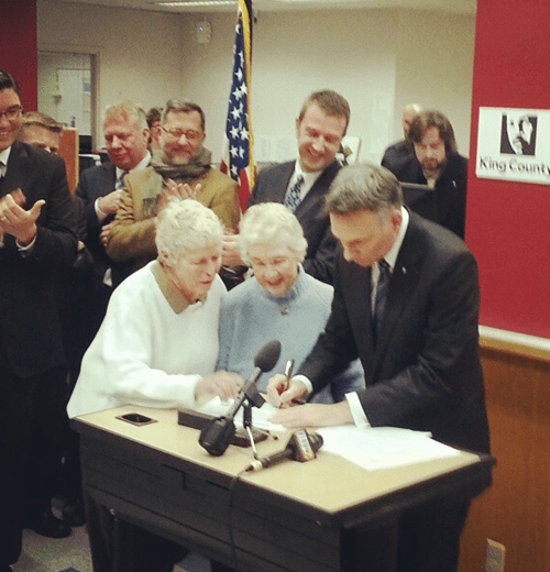 Dating WIN: The First Gay Marriage in Washington State