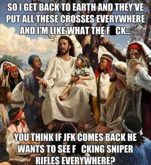 Damn Jesus, That's a Good Point!