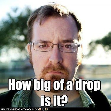 How big of a drop is it?