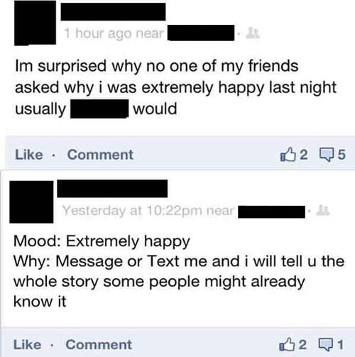 Mood: Attention Seeking