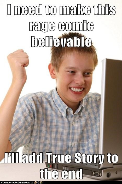first day on the internet,Net Noob,true story,Rage Comics