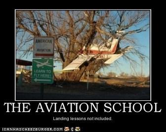 I landed!