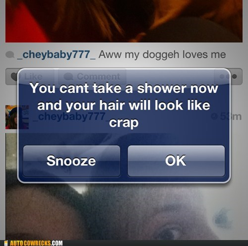 Thanks, Alarm!