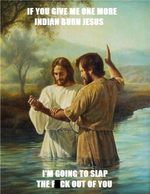 Gettin' Real Tired of it, Jesus...