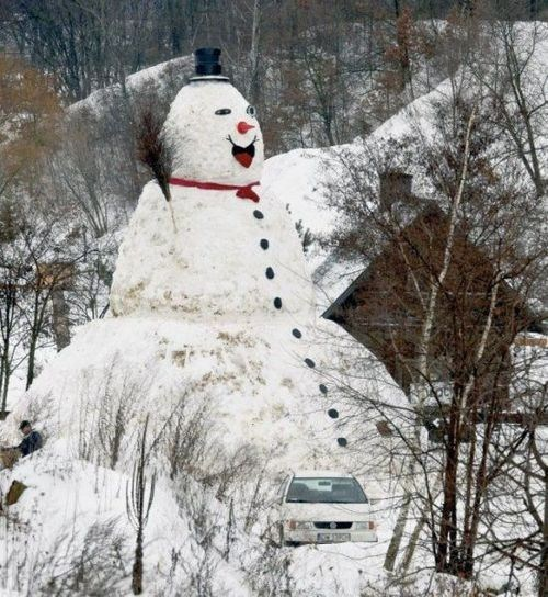 Attack of the 50-Foot Snowman