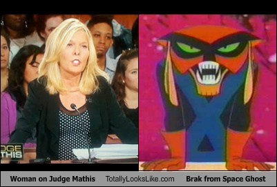 Woman on Judge Mathis Totally Looks Like Brak from Space Ghost