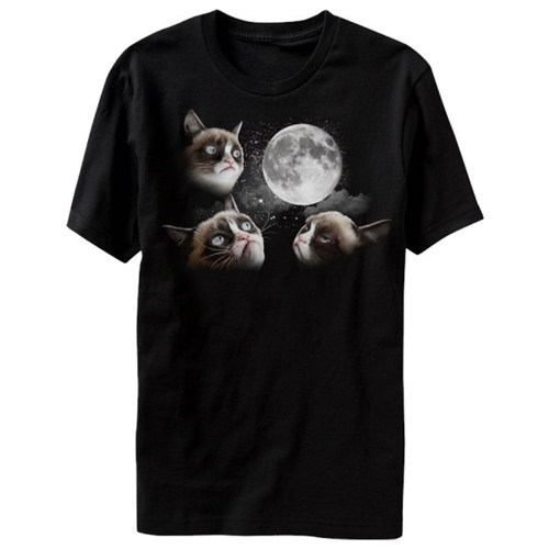 moon,T.Shirt,Grumpy Cat,poorly dressed,g rated