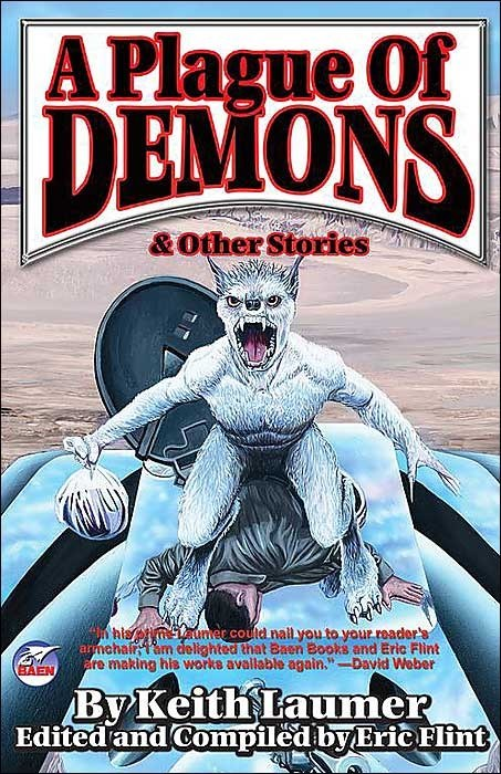 WTF Sci-Fi Book Covers: A Plague of Demons