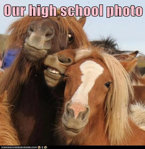 Our high school photo