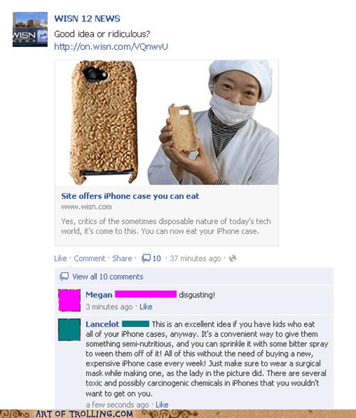 ipod,facebook,edible
