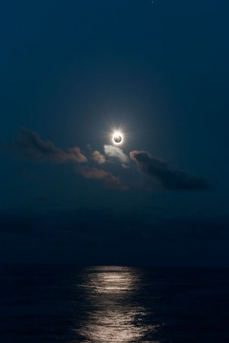 solar eclipse,sailing,ocean,eclipse