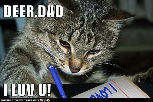 DEER,DAD  I LUV U!