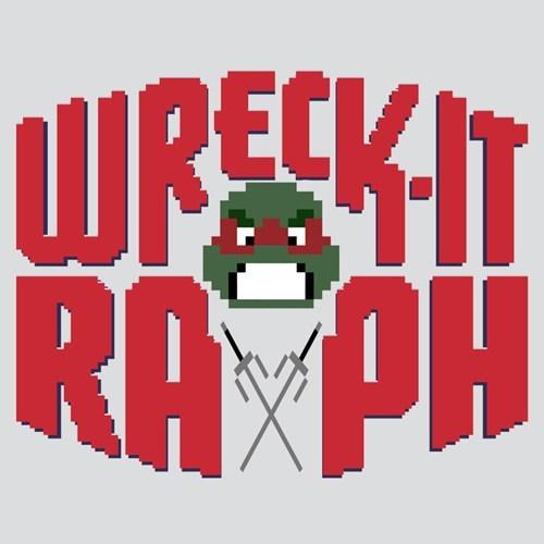 raphael,TMNT,wreck it ralph,sai