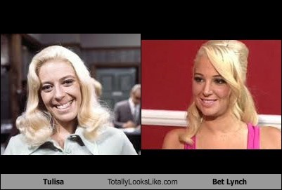 Tulisa Totally Looks Like Bet Lynch