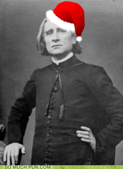 Currently On My Christmas Liszt...