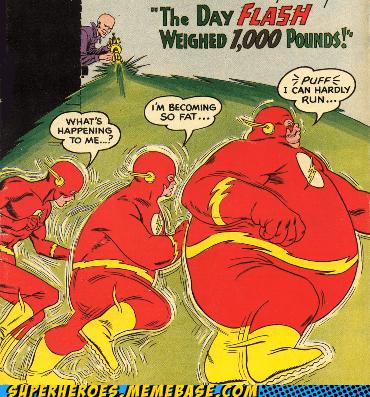 fat,can't run,flash