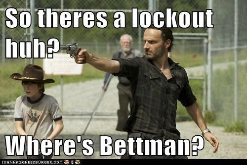 So theres a lockout huh?  Where's Bettman?