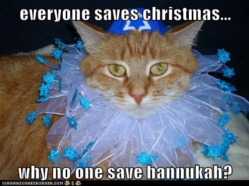 everyone saves christmas...  why no one save hannukah?
