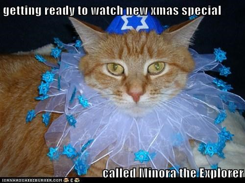 getting ready to watch new xmas special  called Minora the Explorer