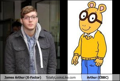 James Arthur (X-Factor) Totally Looks Like Arthur (CBBC)