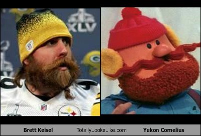 Brett Keisel (Steelers Defensive End) Totally Looks Like Yukon Cornelius