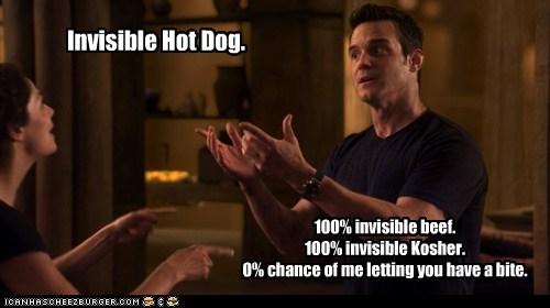 chance,hot dog,pete latimer,warehouse 13,eddie mcclintock,invisible,zero percent,myka berring,joanne kelly