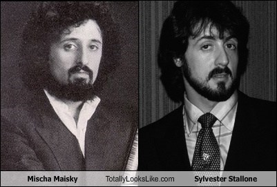 Mischa Maisky Totally Looks Like Sylvester Stallone