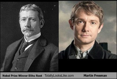 Nobel Prize Winner Elihu Root Totally Looks Like Martin Freeman