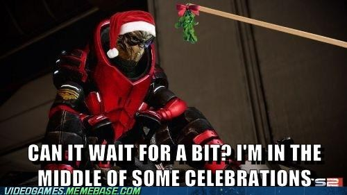 Garrus Wishes You a Merry Christmas