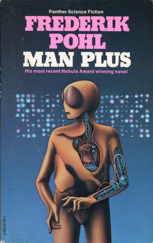 WTF Sc-Fi Book Covers: Man Plus