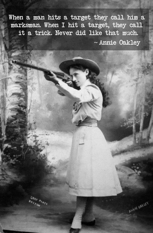 Annie Oakley on Marksmanship