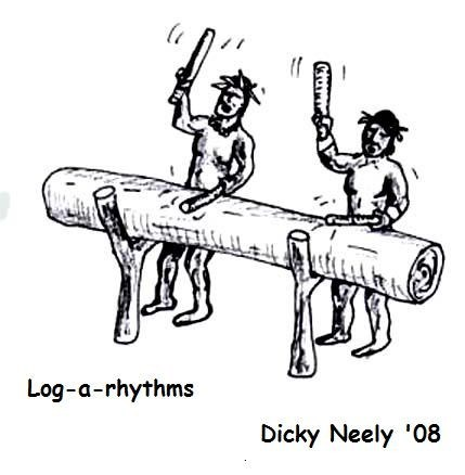 logarithm,rhythm,log,literalism,double meaning