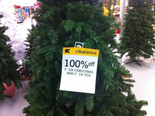 That Isn't Very Xmasy of U, K-Mart