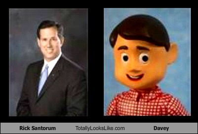 Rick Santorum Totally Looks Like Davey