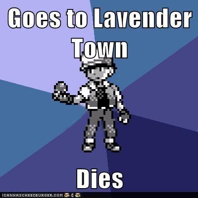 Goes to Lavender Town  Dies