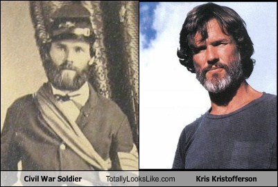 Civil War Soldier Totally Looks Like Kris Kristofferson